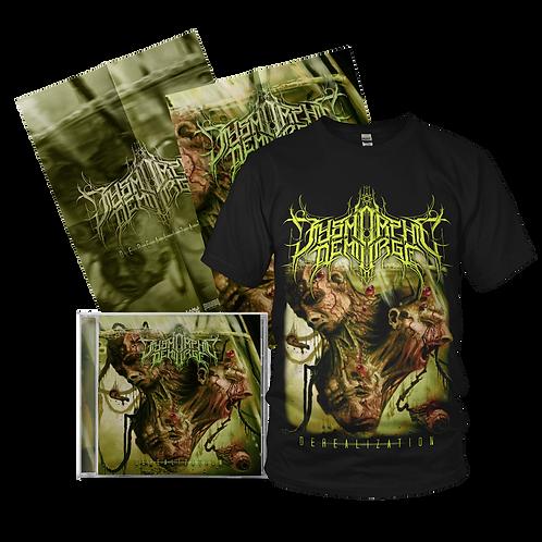 "Dysmorphic Demiurge ""Derealization"" BUNDLE #1 (CD+T-Shirt+Poster)"