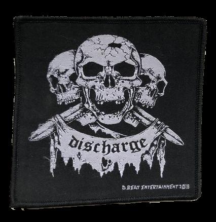 Discharge - Three Skulls