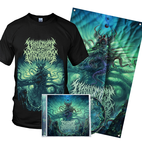 Virulence Of Misconduct - Infected (CD + T-Shirt + Flag)