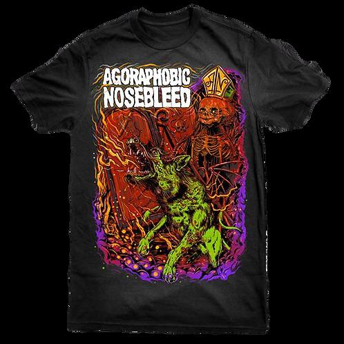 Agoraphobic Nosebleed - Dog T-Shirt
