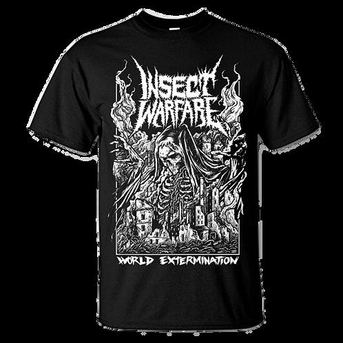 Insect Warfare - World Extermination T-Shirt