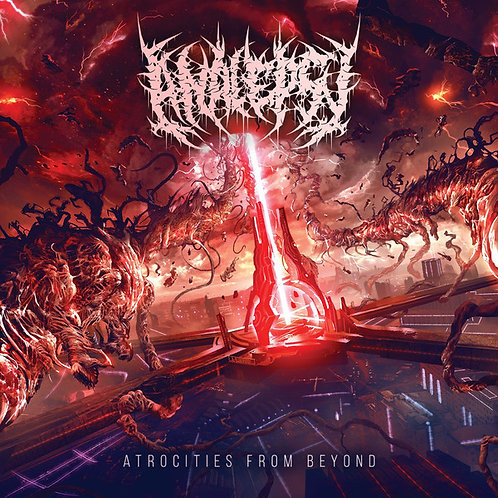 Analepsy - Atrocities from Beyond CD [Repress 2017]