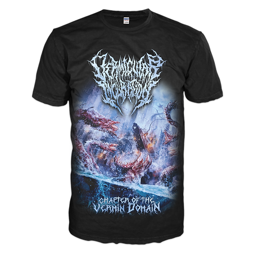 Vermicular Incubation - Chapter of the Vermin Domain (T-Shirt)
