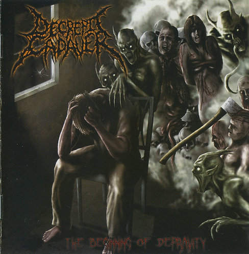 Decrepit Cadaver ‎– The Beginning of Depravity