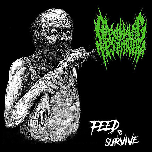 Appalling Testimony ‎– Feed to Survive