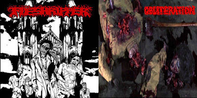 Fleshripper / Obliteration – Fleshripper / Obliteration