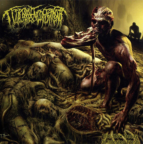 Guttural Engorgement ‎– The Slow Decay of Infested Flesh