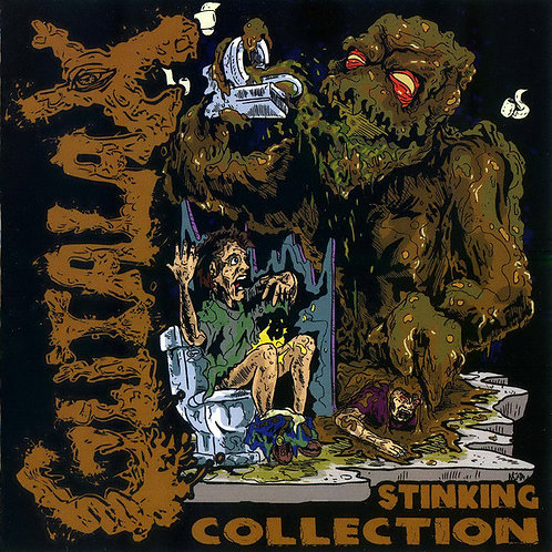 Gutalax ‎– Stinking Collection