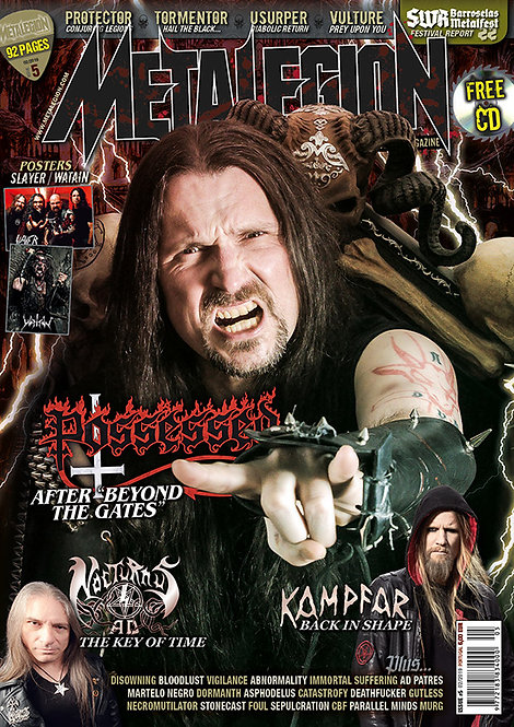 METALEGION #5 - Magazine