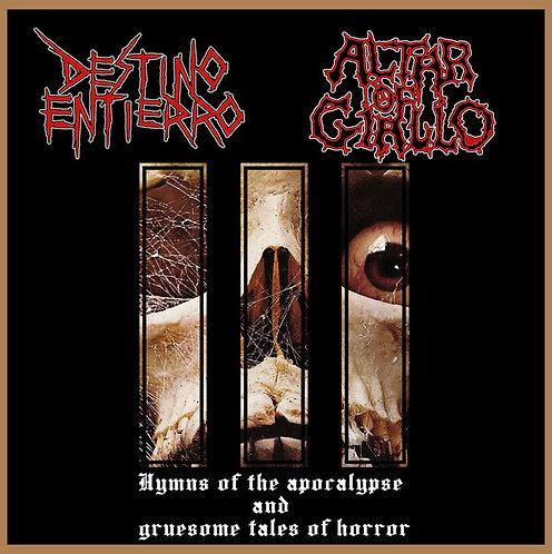 Destino Entierro & Altar of Giallo–Hymns of the Apocalypse & Gruesome Tales ...