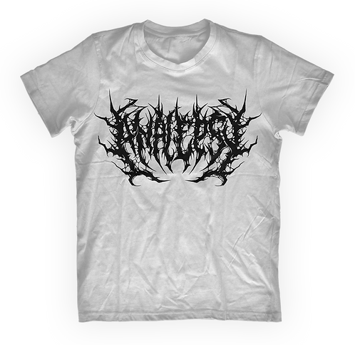 "Analepsy - ""The Vermin Devourer"" White T-shirt"