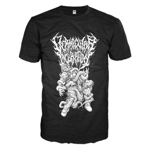 Vermicular Incubation - Suffocated by Maggots (T-Shirt)