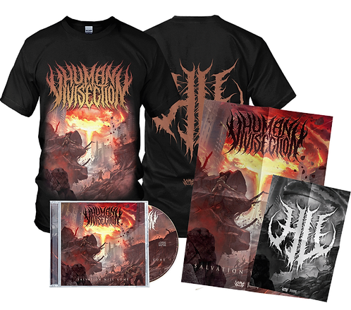 Human Vivisection - Salvation Will Come (CD + T-Shirt)