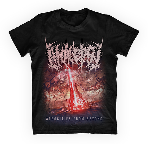 """Analepsy - """"Atrocities from Beyond"""" T-shirt"""
