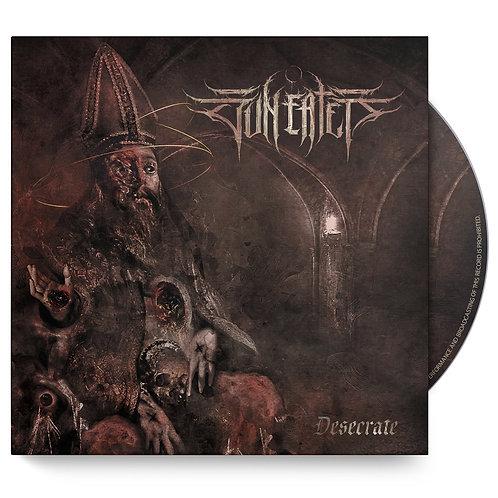 """SUN EATER """"DESECRATE"""" SINGLE CD"""