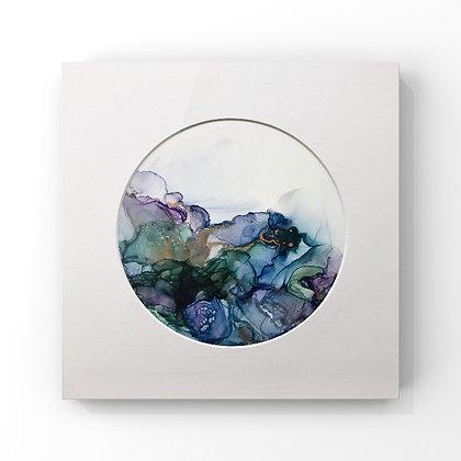 Paua Inspired Original Abstract