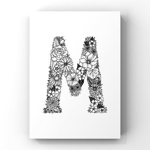Letter M