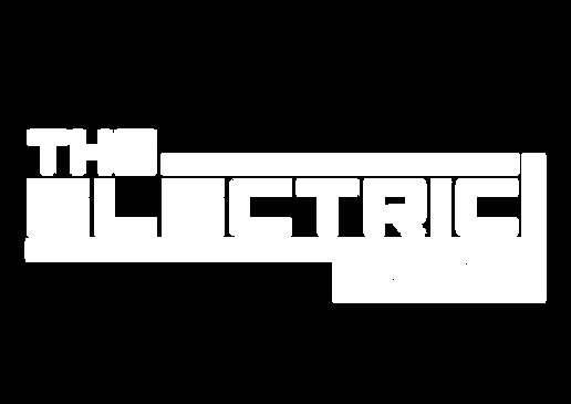 The Electric Arcade logo - white transpa