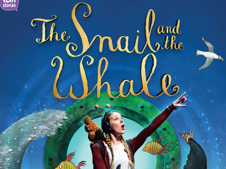 The Snail and the Whale arrives on the beach!