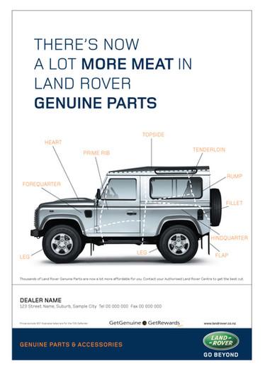 Land Rover - Genuine Spare Parts