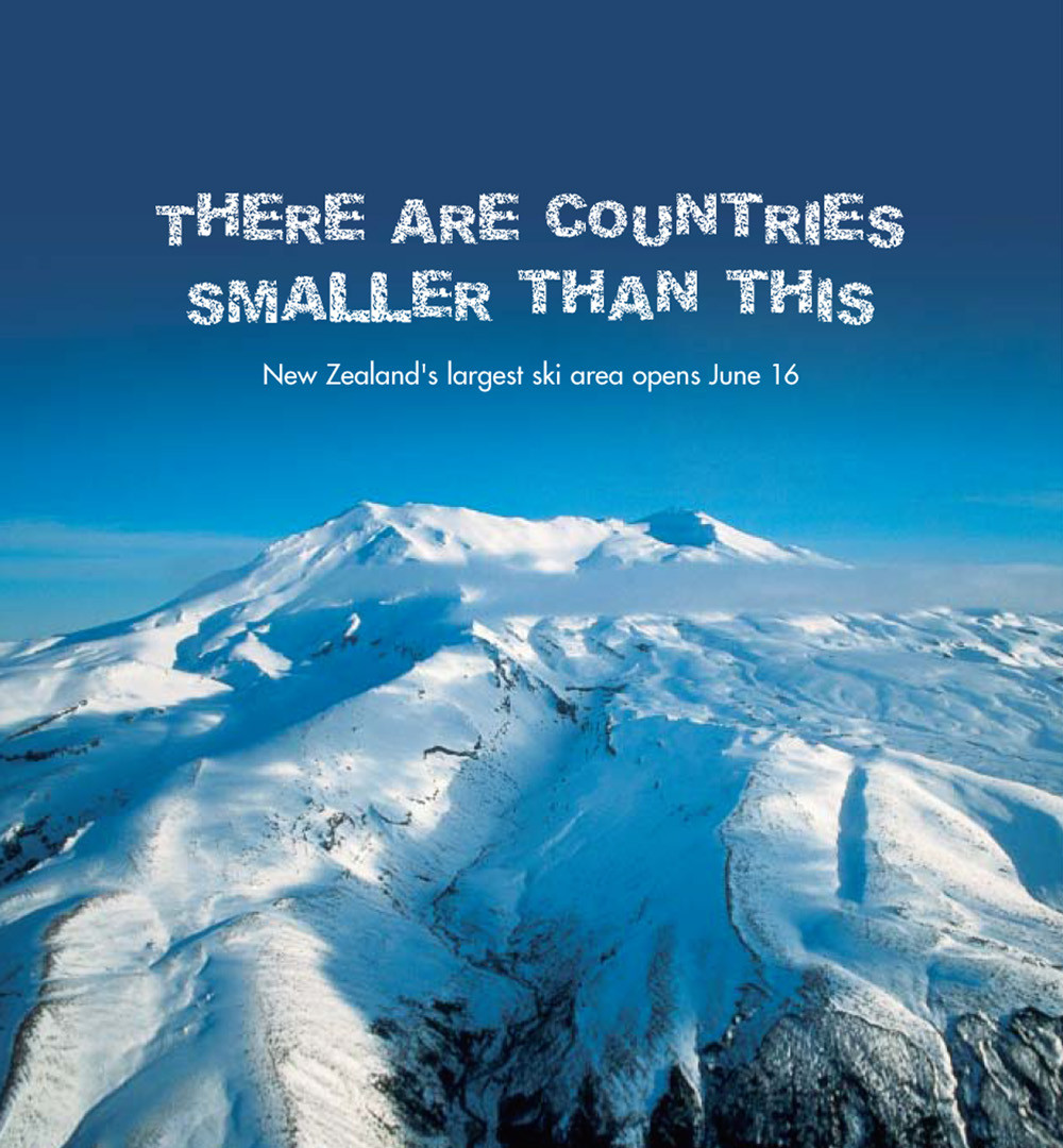 Mt Ruapehu Ski Areas - Brand