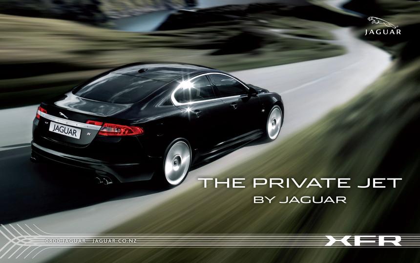 Jaguar XFR - Launch