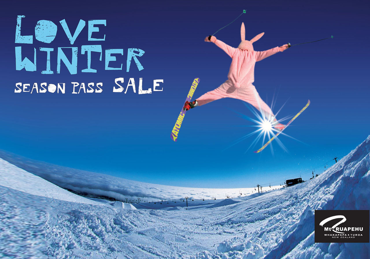 Mt Ruapehu Season Pass  - Retail Sale