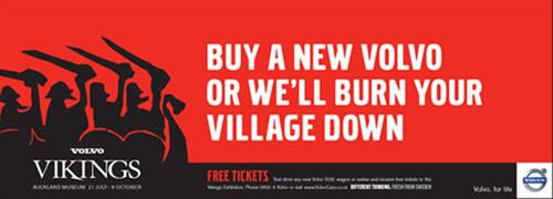 Volvo Sponsorship - Vikings Exhibition