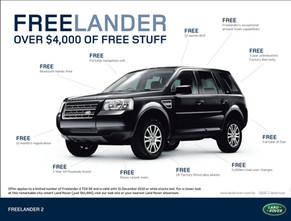 Land Rover Freelander - Retail Sale