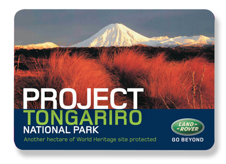 Environmental Campaign - Project Tongariro