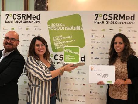 """Wolffia vince il Premio """"impresa ad alto impatto sociale"""""""