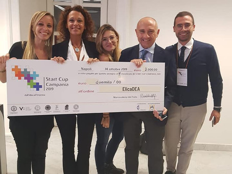 Le Compagini di Campania Newsteel trionfano a Startcup Campania 2019