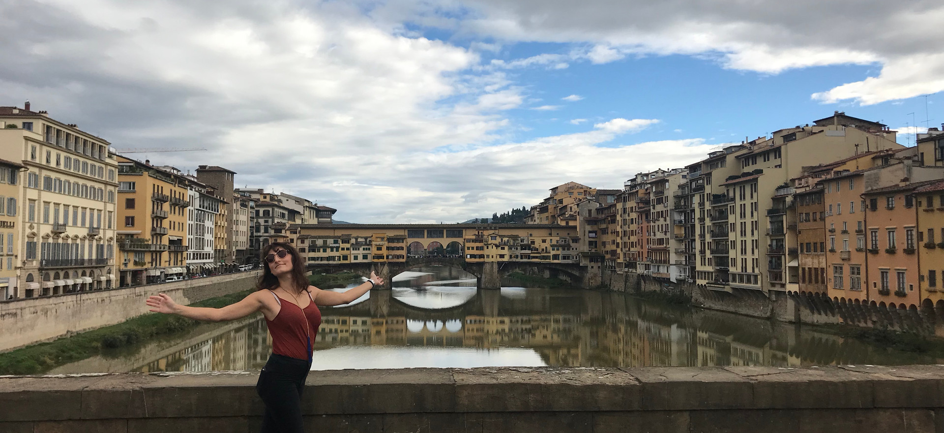 The Pont Vecchio & Arno River