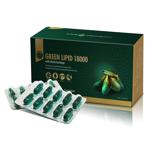 Natural Health Green Lipid Mussle 18000