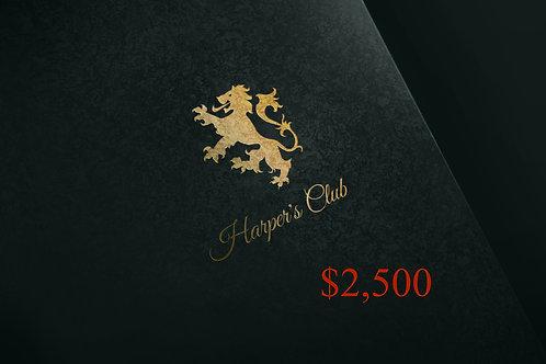Harper's BOND Gift Card