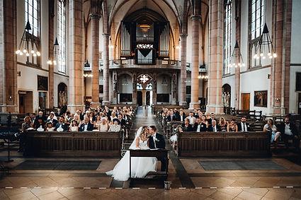 Brautpaar Kirchliche Hochzeit Propsteikirche Gelsenkirchen
