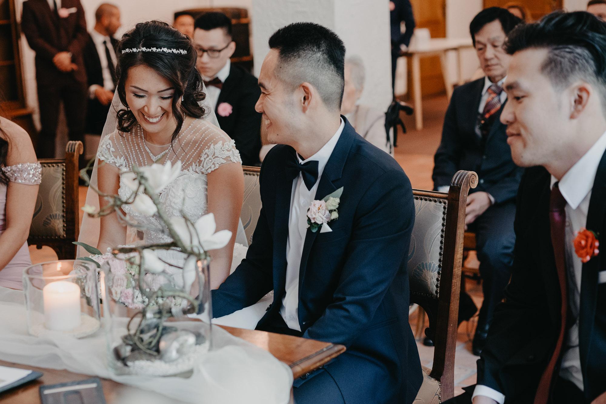 brautpaar brautpaarshooting schloss schwansbell lünen deutsch vietnamesisch hochzeit