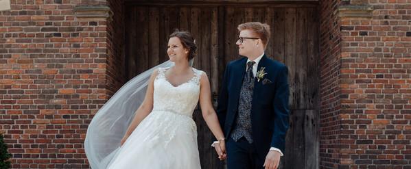 Brautpaar Hochzeit Münsterland Vreden Zwillbrock Barockkirche Brautpaarshooting