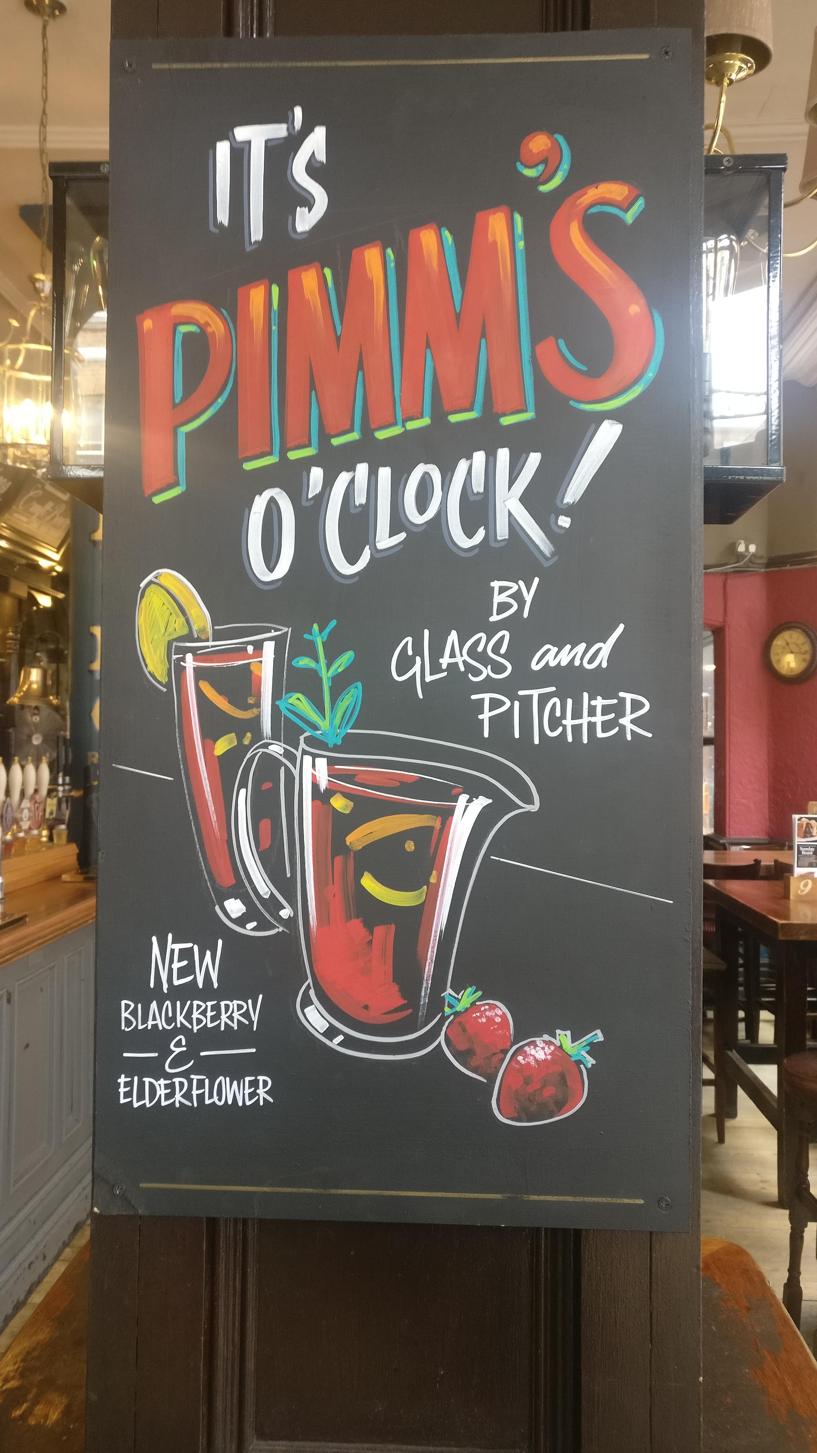 Pimm's promo, Paddington