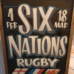 Six Nations A Board, London