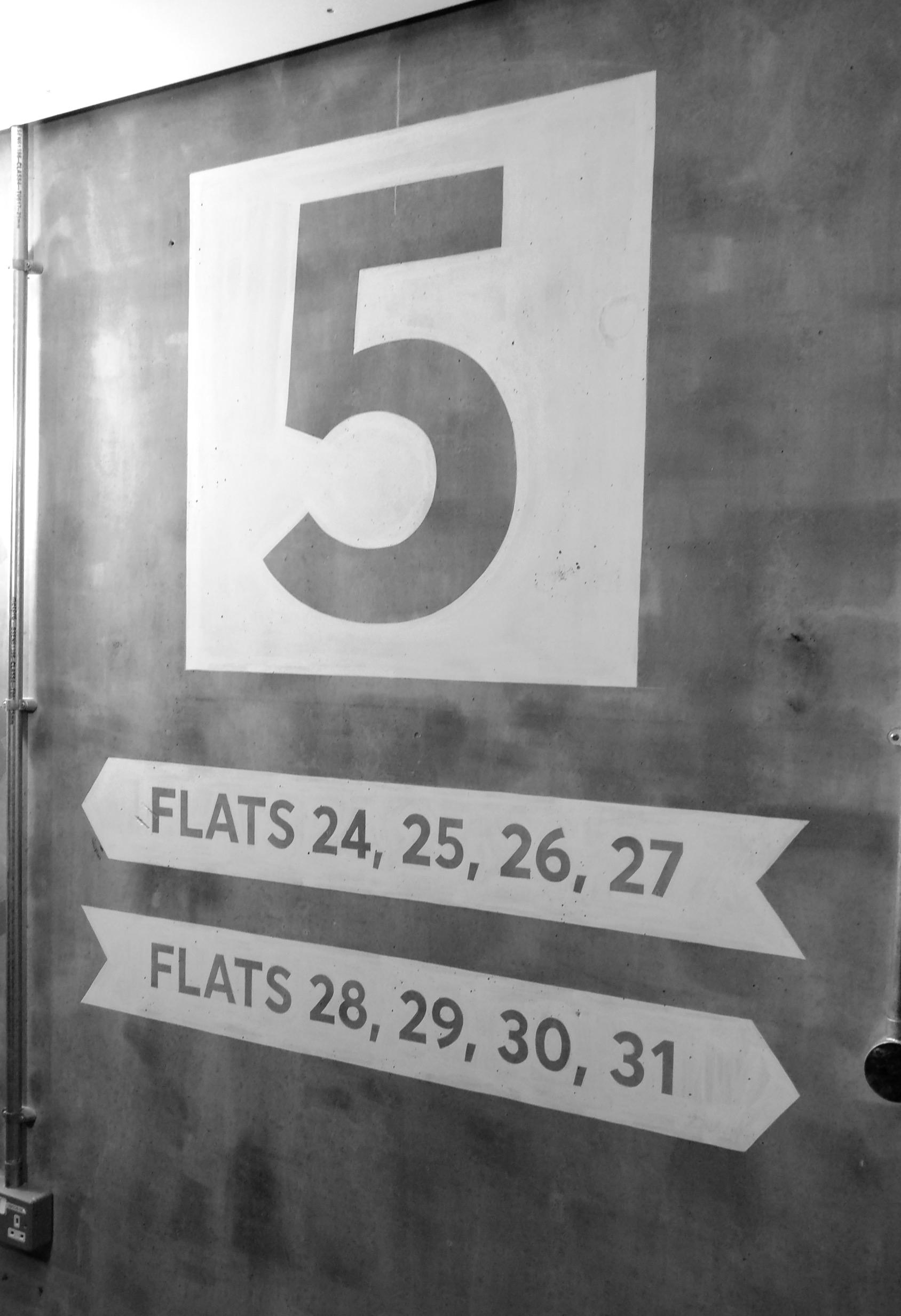 Directional signage, Hackney