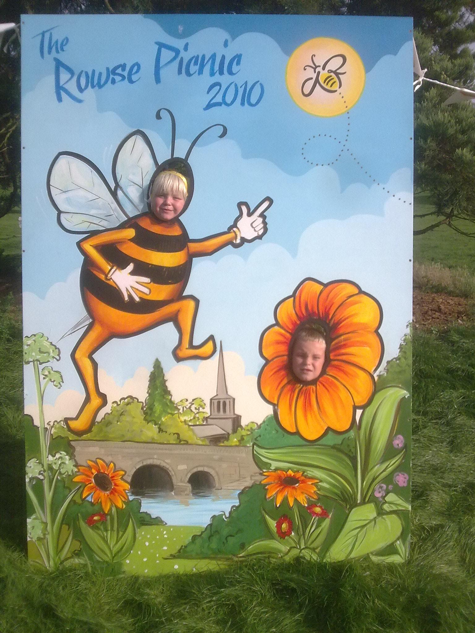 Rowse Honey Festival advert