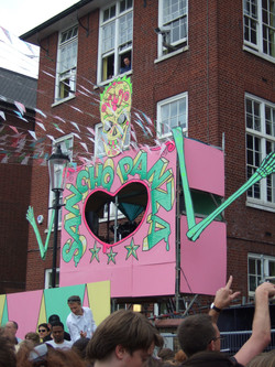 Notting Hill Carnival Sancho Stage