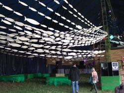 Glade Festival bar tent