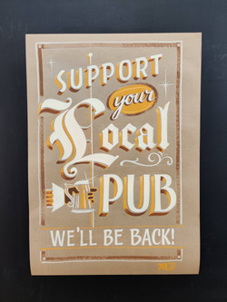 Support Your Local Pub poster