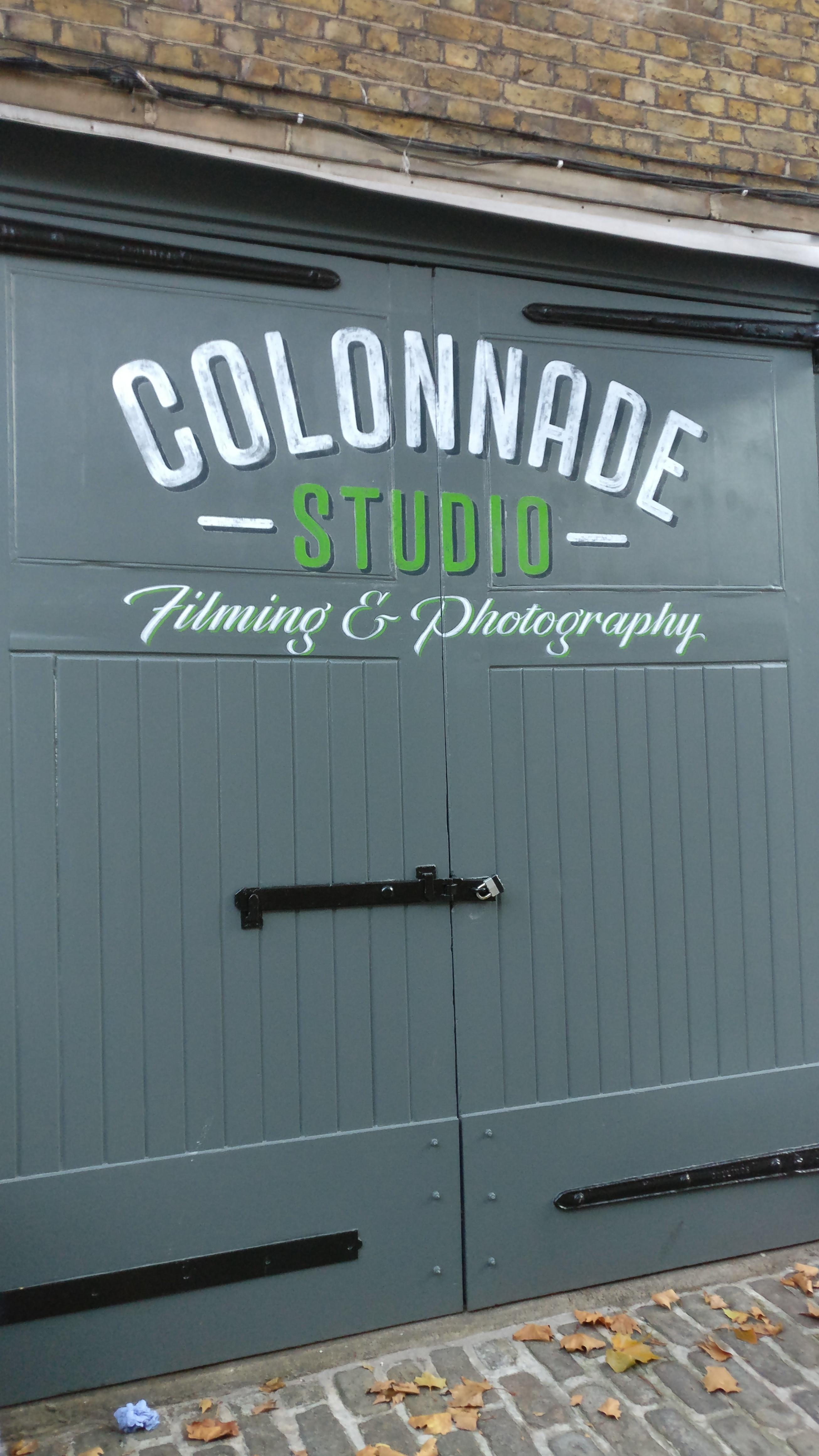 Colonnade Studio, Bloomsbury
