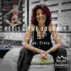 Sandy Joy Weston podcast appearance on Relish The Journey, hosted by Myles Biggs, a production of Biggs Ideas, LLC