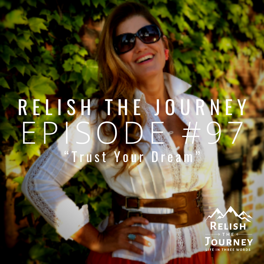 Dolores Hirschmann on Relish The Journey Podcast