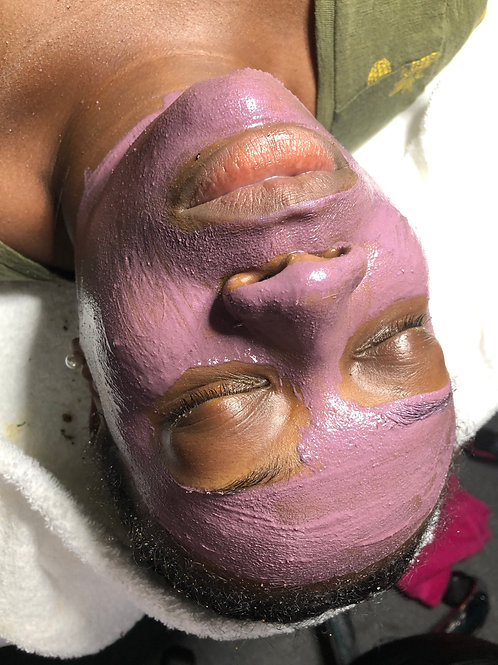 Purple vitamin C Mask