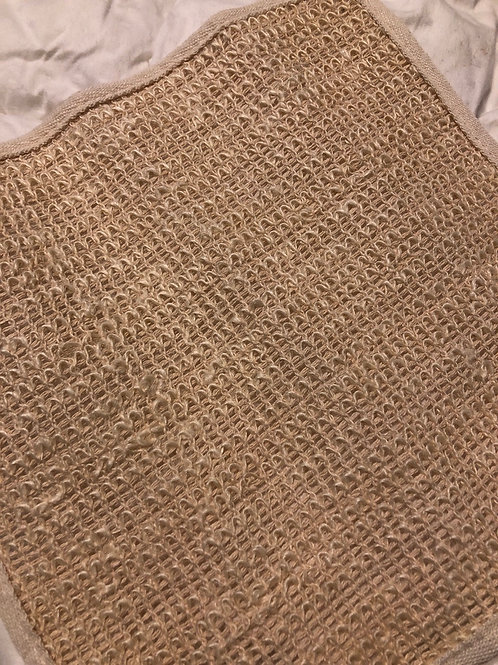 Natural Sisal Exfoliating face and body Cloth